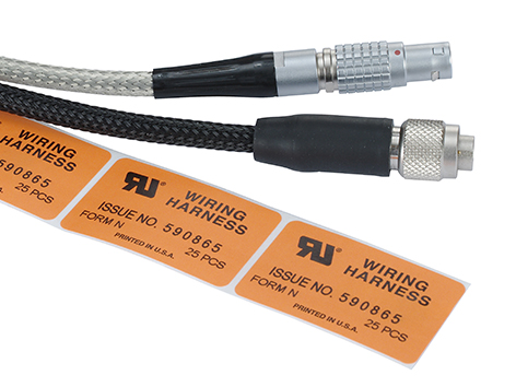 UL approved cable assemblies