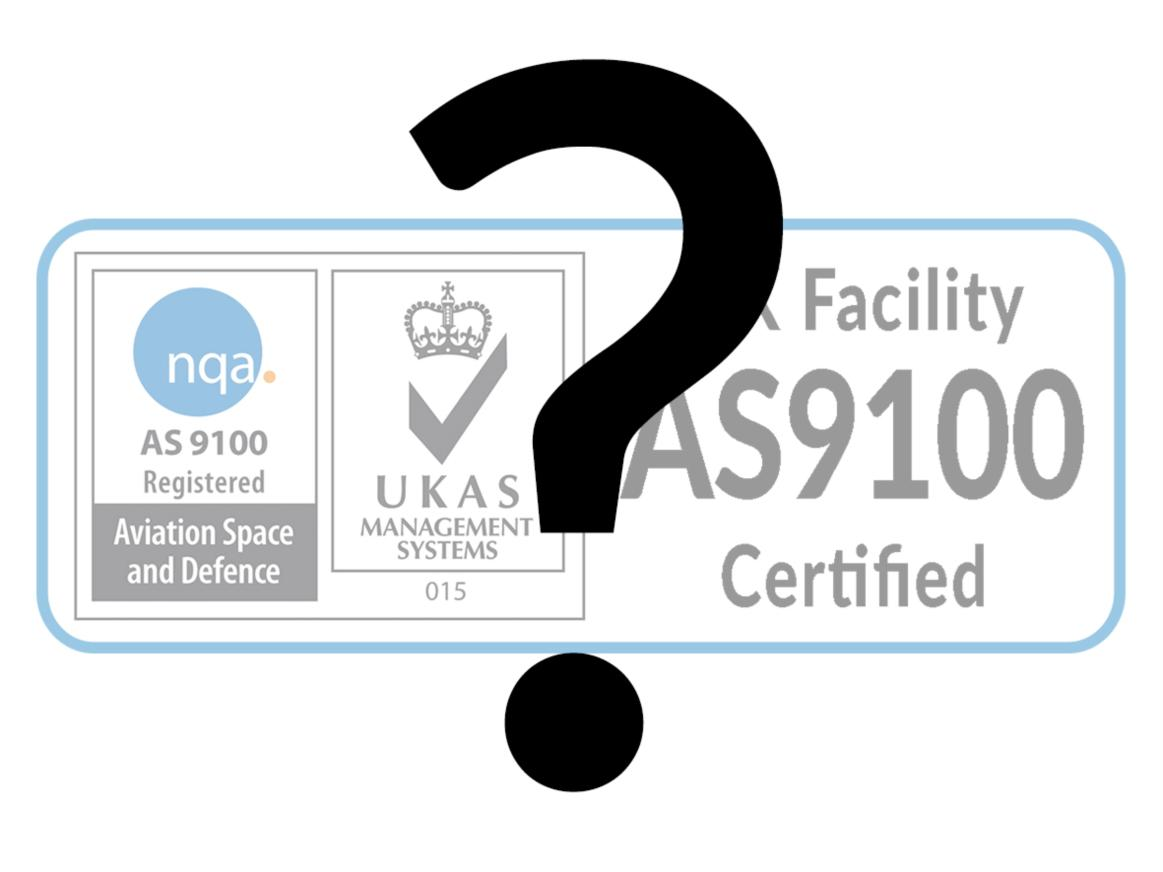 What Is As9100c Certification Gtk Uk