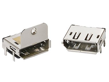 Standard DisplayPort connectors
