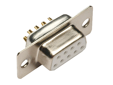 Cable mount solder D-sub connectors