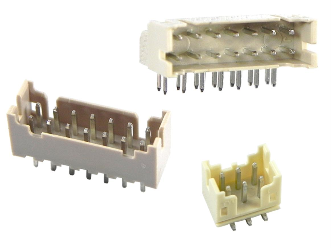 2.0 mm dual row wire-to-board connectors