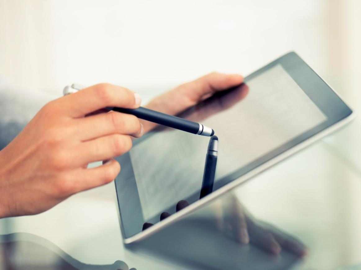 Blog: The Past, Present and Future of Touchscreen Technology