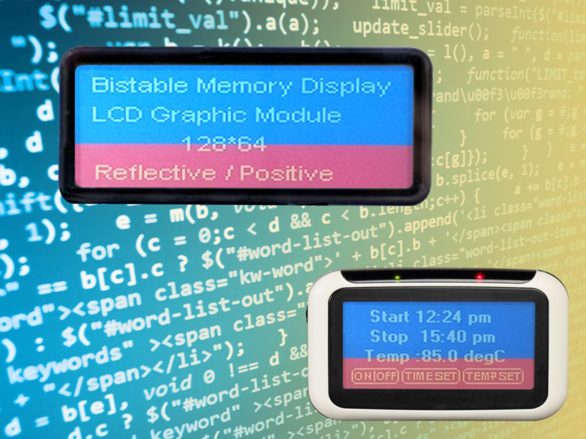 GTK launches bi-stable technology displays