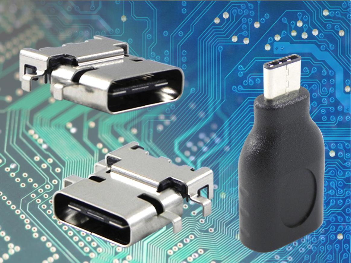 USB type-C connectors