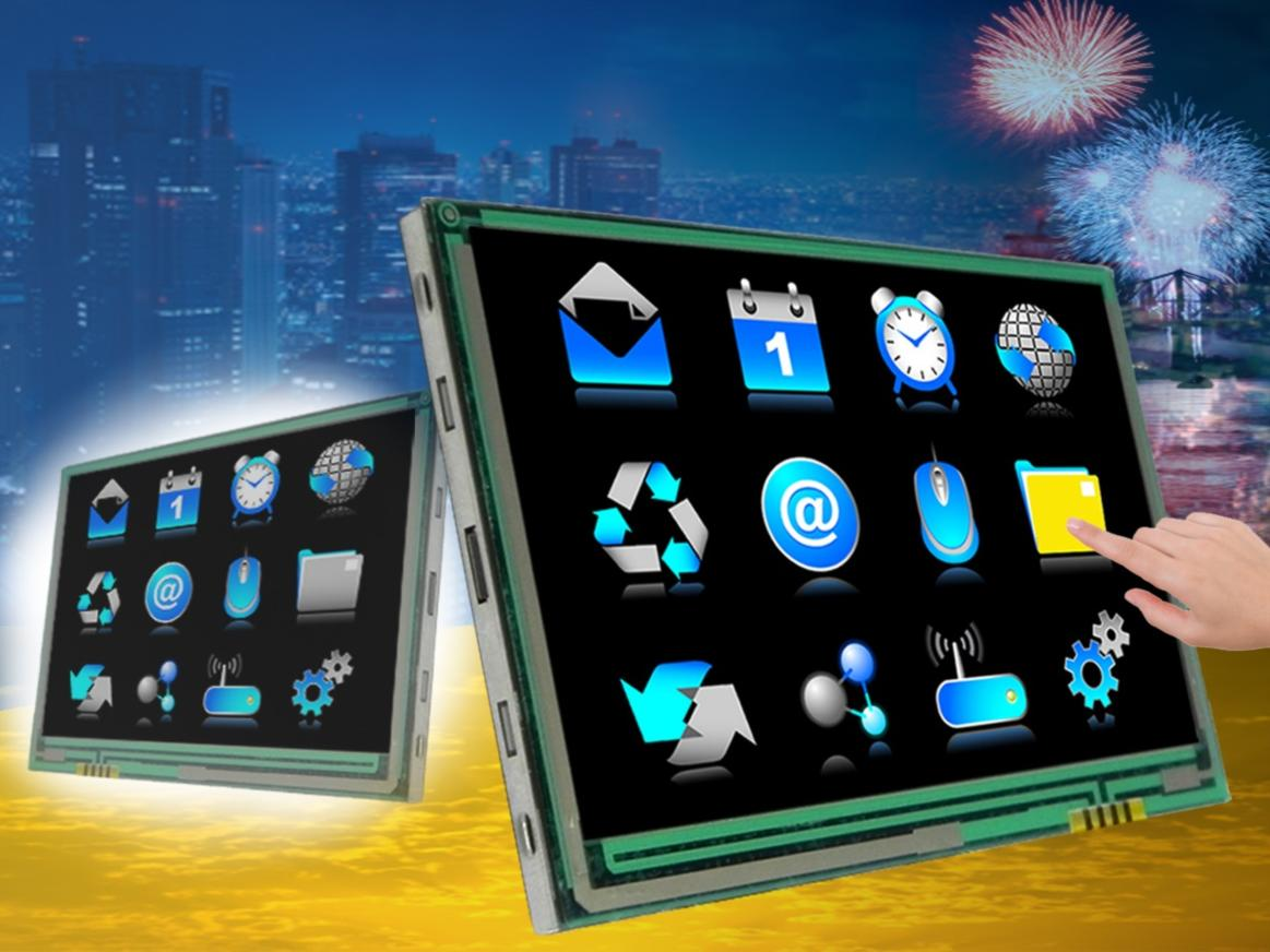 resistive glass touchscreen